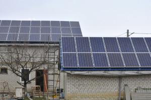 Фотоотчёт об установке сетевой солнечной электростанции мощностью 12 кВт