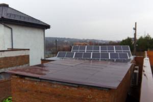 Сетевая солнечная электростанция на 30 кВт в Харькове, Флоринка