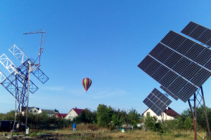 Солнечная электростанция в Киевской области — решение за 6 дней