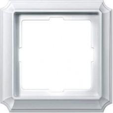 Рамка 1-модульная Merten Antique. Цвет Полярно-белый MTN483119