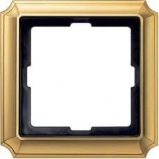 Рамка 1-модульная Merten Antique. Цвет Блестящая латунь MTN483121
