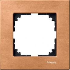 Рамка 1-постовая Merten M-Elegance Дерево. Цвет Бук MTN4051-3470
