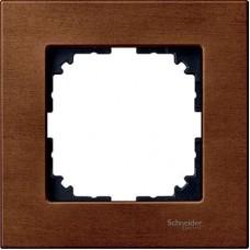Рамка 1-постовая Merten M-Elegance Дерево. Цвет Вишня MTN4051-3472