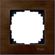 Рамка 1-постовая Merten M-Elegance Дерево. Цвет Орех MTN4051-3473
