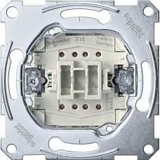 MTN3112-0000 Механизм 1-клавишного выключателя Merten System M, 2 полюса, 10А