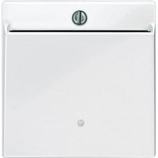 Выключатель с карточкой-ключом Merten System M. Цвет Активный белый, MTN315625