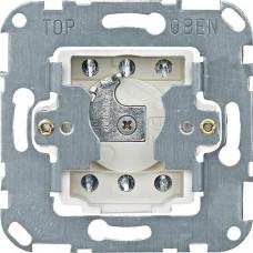 MTN318901 Механизм кнопочного выключателя рольставней, для замочного цилиндра Merten, 2 полюса, 10А