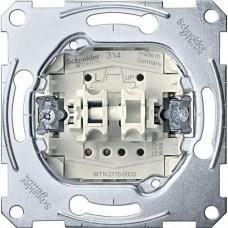 MTN3714-0000 Механизм выключателя рольставней с дополнительным контактом Merten, 1 полюс, 10А