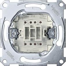 Механизм карточного кнопочного выключателя, 1 полюс, 10А , MTN3754-0000
