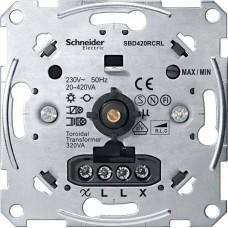MTN5139-0000 Механизм универсального поворотного светорегулятора Merten System M, 20-600 Вт/ВA