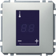 MTN5775-0000 Механизм терморегулятора теплого пола с сенсорным дисплеем Merten System M, 16A, 230B