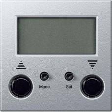 MTN581960 Стандартный таймер для жалюзи Merten System M. Цвет Алюминий