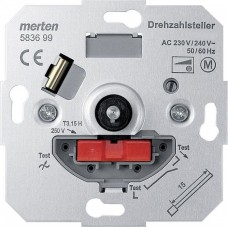 MTN583699 Механизм регулятора частоты вращения Merten System M, 2,7А