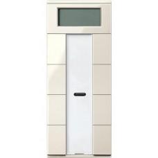 4- кнопочный выключатель с терморегулятором KNX plus Merten System M. Цвет Бежевый MTN6214-0344