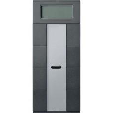 4- кнопочный выключатель с терморегулятором KNX plus Merten System M. Цвет Антрацит MTN6214-0414