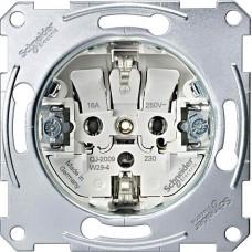 Механизм розетки Merten Shuko, 2 полюса, 16А, MTN2300-0000