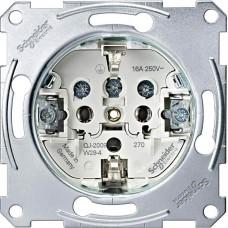 Механизм розетки Merten Shuko, 2 полюса, 16А, MTN2400-0000