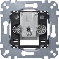 Механизм двойной индивидуальной антенной розетки TV + FM Merten, MTN299205