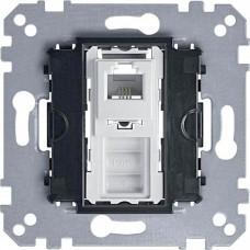 Механизм телефонной розетки с 4-контактным разъемом RJ12 Merten, MTN463501
