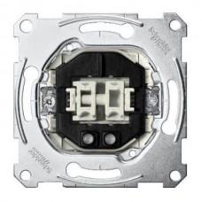 MTN3165-0000 2-кнопочный механизм выключателя с замыкающим контактом и подсветкой Merten System M, 1 полюс, 10А