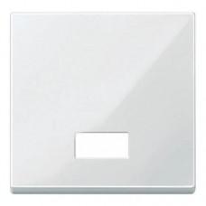 MTN432819 Клавиша с окошком для световой индикации Merten System M. Цвет Полярно-белый