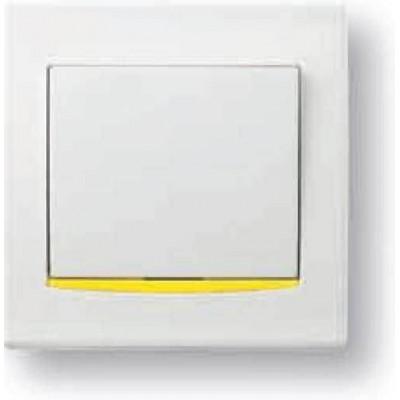 Желтая декоративная вставка серия Anya AYA9000124