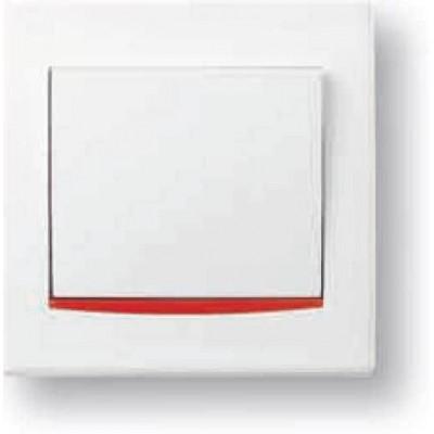 Красная декоративная вставка серия Anya AYA9000141