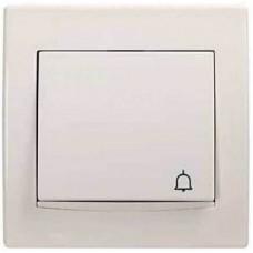 AYA1700223 Кнопка с подсветкой и символом звонок серии Anya