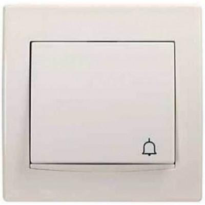 Кнопка с подсветкой и символом звонок серии Anya AYA1700223
