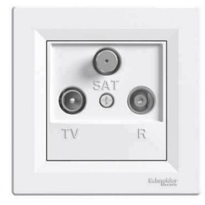 EPH3500221 Розетка TV-R-SAT прохідна 4 dB Asfora
