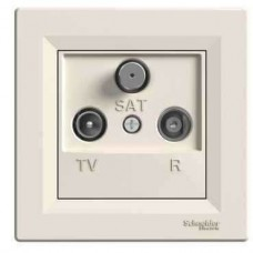 EPH3500223 Розетка TV-R-SAT проходная 4 dB Asfora