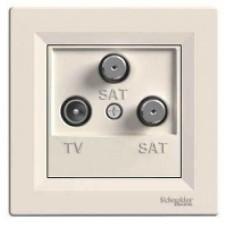 EPH3600123 Розетка TV-SAT-SAT концевая 1 dB Asfora