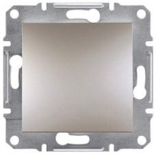 EPH0700169 Одноклавишный кнопочный выключатель серии Asfora 10А. Цвет Бронза