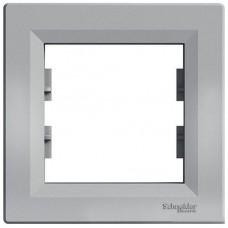 EPH5800161 Рамка 1-постовая горизонтальная Asfora. Цвет Алюминий
