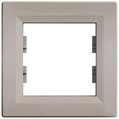 EPH5800169 Рамка 1-постовая горизонтальная Asfora. Цвет Бронза