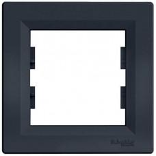 EPH5800171 Рамка 1-постовая горизонтальная Asfora. Цвет Антрацит
