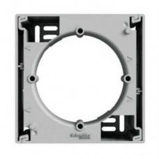 EPH6100161 Коробка для наружного монтажа 1-постовая Asfora. Цвет Алюминий