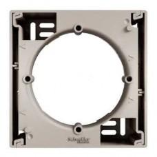 EPH6100169 Коробка для наружного монтажа 1-постовая Asfora. Цвет Бронза
