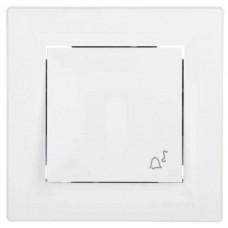 EPH0800121 Кнопочный выключатель с символом звонок Asfora