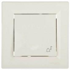 EPH0800123 Кнопочный выключатель с символом звонок Asfora