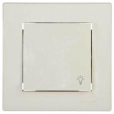 EPH0900123 Кнопочный выключатель с символом свет Asfora