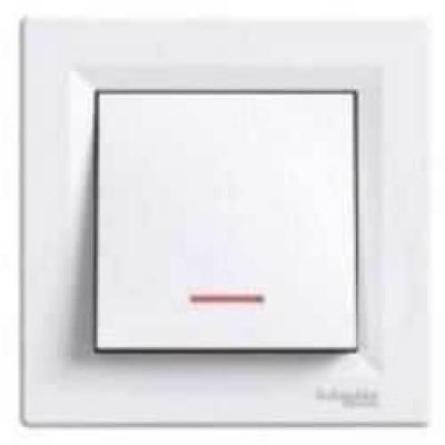 EPH1600121 Кнопочный выключатель с подсветкой серии Asfora IP20