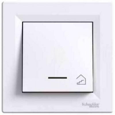 EPH1900321 Кнопочный выключатель с подсветкой и символом лестница Asfora IP20