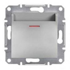 Карточный выключатель Asfora IP20. Цвет Алюминий EPH6200161