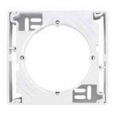 SDN6100121 Коробка одиночная для наружного монтажа Sedna. Цвет Белый