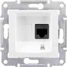 SDN4300123 Компьютерная розетка UTP RJ45 кат.5e неэкранированная Sedna. Цвет Слоновая кость