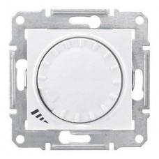 SDN2200921 Светорегулятор поворотно-нажимной индуктивный 1000 ВА серии Sedna. Цвет Белый