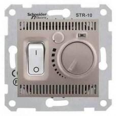 SDN6000168 Комнатный термостат 10А серии Sedna. Цвет Титан
