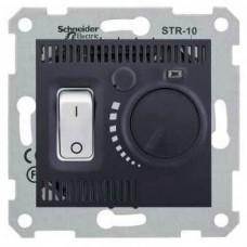 SDN6000170 Комнатный термостат 10А серии Sedna. Цвет Графит