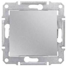 SDN0100160 Одноклавишный выключатель 10 A серии Sedna. Цвет Алюминий